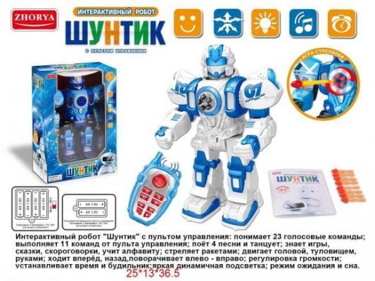 Робот радиоуправляемый Наша Игрушка Шунтик на радиоуправлении со звуком ZYI-I0014-1