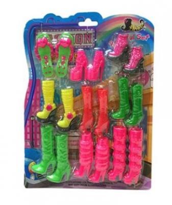 Купить Набор аксессуаров для кукол Наша Игрушка Набор обуви для куклы 9 пар, Аксессуары для кукол