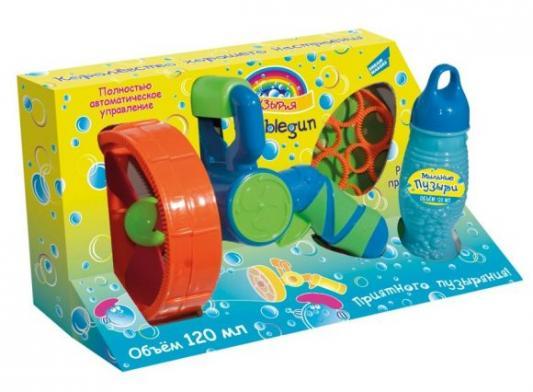 Купить Набор Bubbleland Набор для пускания мыльных пузырей 120 мл разноцветный, Игрушки для улицы
