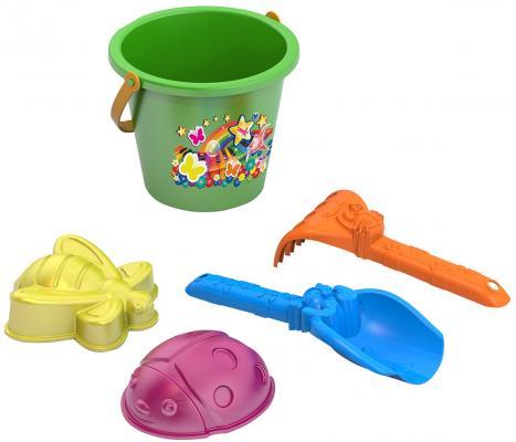 Набор для песка Нордпласт №81 5 предметов игрушки для песка нордпласт barbie n6