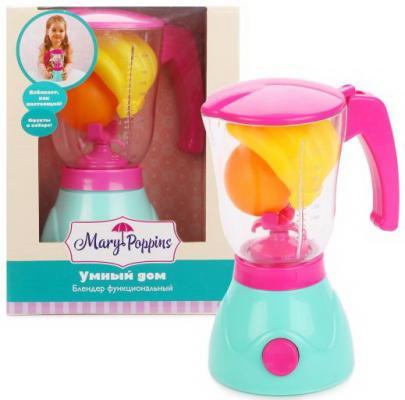 Блендер Mary Poppins Умный дом игрушечная бытовая техника mary poppins умный дом