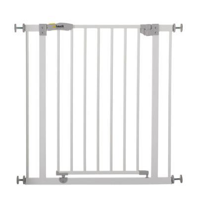 Ворота безопасности Hauck Close N Stope + 21см (white) барьеры и ворота red castle auto close ворота безопасности для дверей и лестниц 68 5 75 5