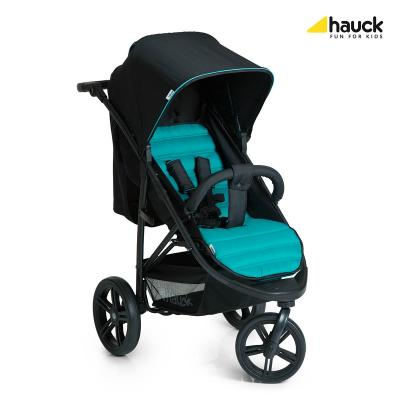 Коляска прогулочная Hauck Rapid 3 (caviar/turquoise) универсальная коляска smile line indiana 3 в 1 02 dark blue turquoise
