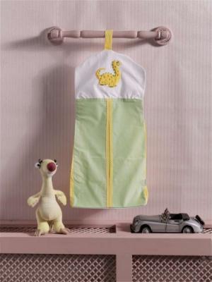 """Прикроватная сумка серии """"Baby Dinos"""", 100% хлопок, размер 30*65 dancing dinos"""
