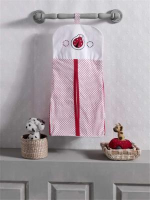 Прикроватная сумка серии Little Ladybug, 100% хлопок, размер 30*65