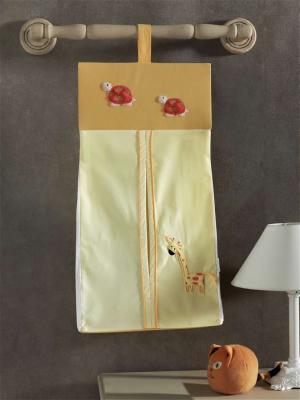Прикроватная сумка серии My Animals, 100% хлопок, размер 30*65