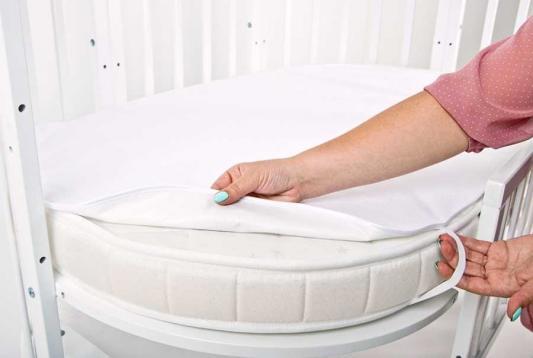 Комплект махровых непромакаемых пеленок  (овал+круг)