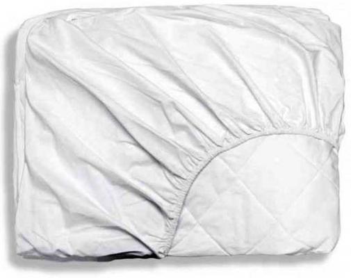 Купить Наматрасник Nuovita на резинках 125х65 см, белый, Чехлы на матрасы