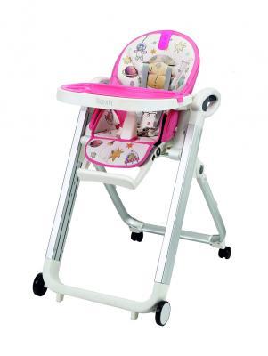 Стульчик для кормления Nuovita Futuro Senso Bianco (cosmo rosa) стульчик для кормления nuovita futuro nero cosmo rosa розовый космос