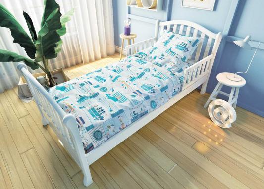 Комплект постельного белья для подростковой кровати Nuovita Кораблики