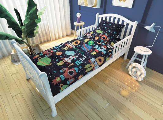 Комплект постельного белья для подростковой кровати Nuovita Космос