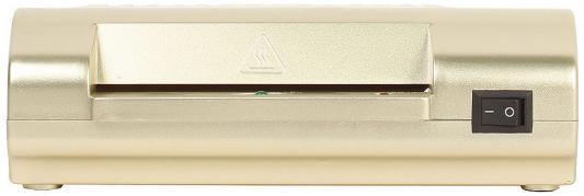 Ламинатор ГЕЛЕОС ЛМ A4-2R, А4, 2х150 (пленка 75-150мкм), 300 мм/мин, 2 вала, пласт. корпус, мах толщина 0,6мм, разжим валов