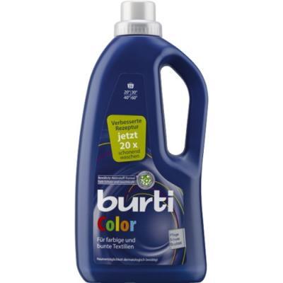 BURTI Color жидкое средство для стирки цветного белья 1.3 л средство для стирки burti color для цветных вещей 1 5 л