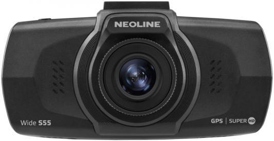 Видеорегистратор Neoline Wide S55 черный 1080x1920 1080p 150гр. GPS Ambarella