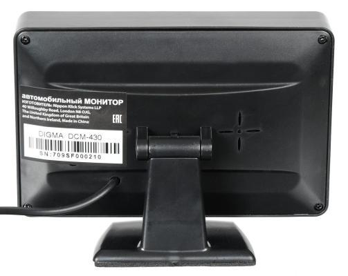 Автомобильный монитор Digma DCM-430 4.3 16:9 480x272 2.5Вт сотовый телефон digma linx a177 2g