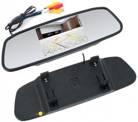 "Зеркало заднего вида с монитором Swat VDR-2U 5"" 16:9 800x480"