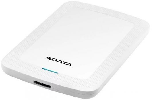 Жесткий диск A-Data USB 3.0 1Tb AHV300-1TU31-CWH HV300 2.5 белый hdd a data hv100 1tb white