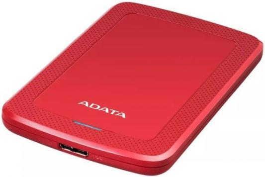 Жесткий диск A-Data USB 3.0 1Tb AHV300-1TU31-CRD HV300 2.5 красный hdd a data hv100 1tb white