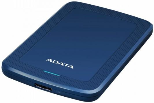 Жесткий диск A-Data USB 3.0 2Tb AHV300-2TU31-CBL HV300 2.5 синий жесткий диск a data usb 3 0 2tb ahd720 2tu31 cbk hd720 dashdrive durable 2 5 черный