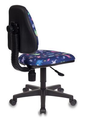 Кресло детское Бюрократ KD-4/DINO-BL синий динозаврики кресло детское бюрократ kd 4 cosmos синий космос cosmos