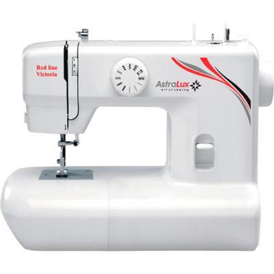 Швейная машина Astralux Rose Line белый/рисунок швейная машинка astralux blue line ii