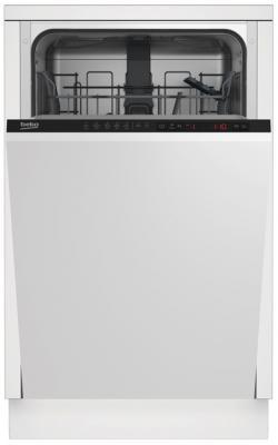 Посудомоечная машина Beko DIS25010 белый посудомоечная машина beko dfn 05310 w