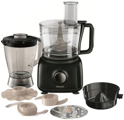 Кухонный комбайн Philips Daily HR7629/90 650Вт черный кухонный комбайн philips hr7605 10