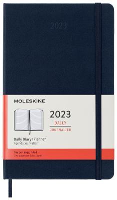 moleskine ежедневник Ежедневник Moleskine CLASSIC Large 130х210мм 400стр. синий сапфир