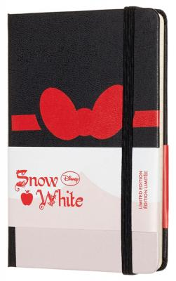 Блокнот Moleskine Limited Edition SNOW WHITE LESNMM710BW Pocket 90x140мм 192стр. линейка Bow (Бант) еженедельник moleskine limited edition denim wknt pocket 90x140мм 144стр черный