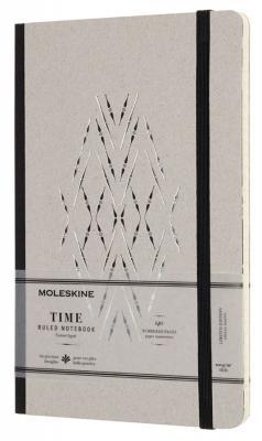 Блокнот Moleskine Limited Edition TIME NOTEBOOKS LCTM31BK Large 130х210мм обложка картон 140стр. линейка черный ежедневник недатированный moleskine limited edition time notebooks large 130x210 мм картон lctm31k