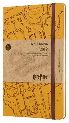 Еженедельник Moleskine Limited Edition HARRY POTTER WKNT Large 130х210мм 144стр. бежевый гарри стайлс harry styles harry styles limited edition