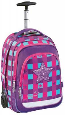 Купить Ранец на колесах Step by Step BaggyMax Trolley 40 л розовый фиолетовый, розовый, фиолетовый, полиэстер, Школьные ранцы
