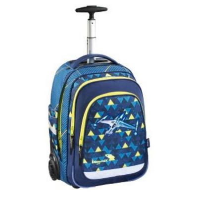 Купить Ранец Step By Step BaggyMax Trolley синий Spaceship, полиэстер, Школьные ранцы