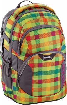 Школьный рюкзак светоотражающие материалы Coocazoo JobJobber2: Hip To Be Square 30 л разноцветный 00129884 рюкзак hama coocazoo jobjobber2 red district