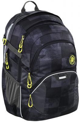 Школьный рюкзак светоотражающие материалы Coocazoo JobJobber2: Mamor Check 30 л черный серый 00138721 рюкзак hama coocazoo jobjobber2 red district