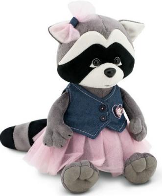 Купить Мягкая игрушка енот ORANGE Енотик Дэйзи Джинсовая вечеринка 20 искусственный мех ткань 20 см, разноцветный, искусственный мех, ткань, Животные
