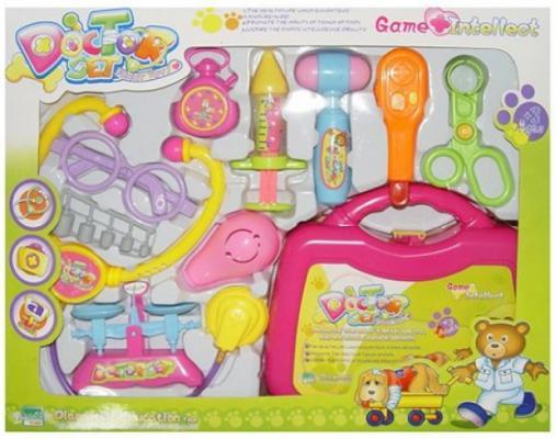 Купить Игровой набор Наша Игрушка Чемоданчик доктора 10 предметов, для девочки, Игровые наборы Доктор
