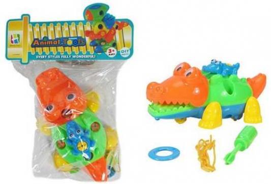Конструктор-скрутка Наша Игрушка Крокодильчики 42397 конструктор скрутка наша игрушка трактор 100955860
