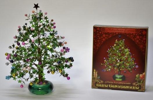 Купить Набор для творчества Моя выдумка Новогодняя елочка от 8 лет, Наборы для шитья и вышивания