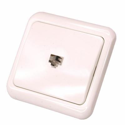 Телефонная розетка внутренняя - 6P-4C (1 порт) REXANT