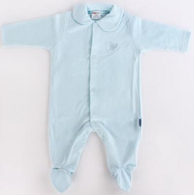 Купить Комбинезон р.56 голубой, Котенок, Хлопок, Для мальчиков, Верхняя одежда для детей