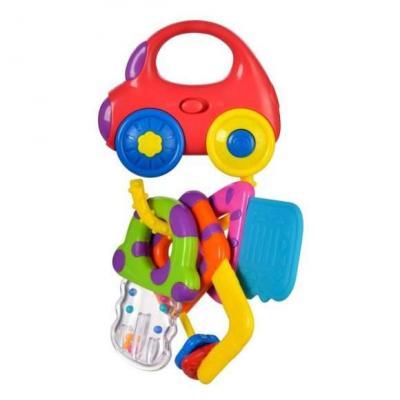 Купить Интерактивная игрушка Жирафики Машинка с ключиками от 6 месяцев, разноцветный, пластик, унисекс, Игрушки со звуком