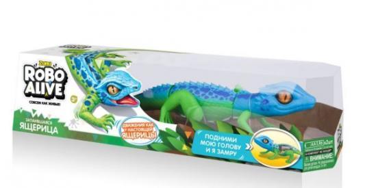 Игрушка Робо-ящерица cин-зел игрушки для ванной zuru тропическая робо рыбка бычок