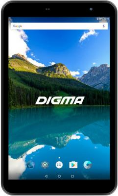 Digma Optima 8019N 4G (TS8182ML) [1014240] {MTK8735 (1.3) 4C, RAM1Gb, ROM8Gb 8 IPS 1280x800, 3G, 4G, Android 7.0, черный, 2Mpix, 0.3Mpix, BT, GPS, WiFi, Touch, microSD 128Gb, minUSB, 3400mAh} планшет digma optima 8019n 4g black