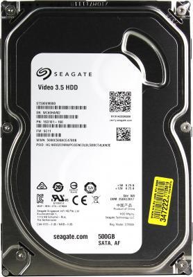 """все цены на Жесткий диск 3.5"""" 500 Gb 5900rpm 64Mb cache Seagate Video SATA III 6 Gb/s ST500VM000 онлайн"""
