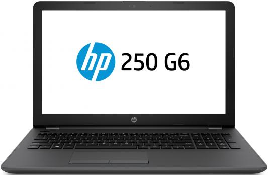 HP 250 G6 Core i3-7020U 2.3GHz,15.6 HD (1366x768) AG,AMD Radeon 520 2Gb,4Gb DDR4(1),500Gb 5400,DVDRW,41Wh,2.1kg,1y,Dark,Win10Pro ноутбук hp 250 g6 1xn78ea core i3 6006u 4gb 500gb amd r5 m520 2gb 15 6 dvd win10pro