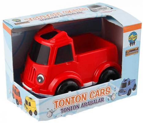 Автомобиль Pilsan Tonton Cars красный 07-655 машины pilsan машинка tonton