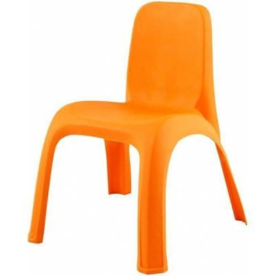 Купить Стул детский Pilsan King Chair (03-417) Оранжевый, оранжевый, пластик, Стульчики для кормления