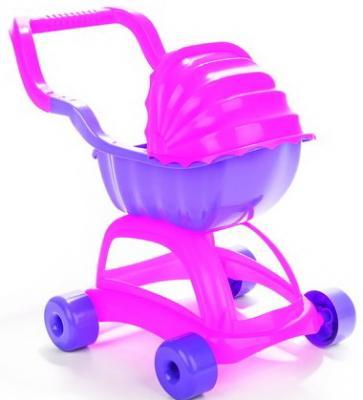 Коляска для кукол Pilsan Candy в коробке цвет розово-сиреневый трехколесный велосипед pilsan yumurcak в подарочной коробке цвет красно белый 07 143
