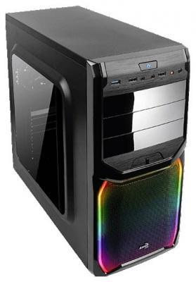 Корпус ATX Aerocool V3X RGB Window Без БП чёрный (57813)